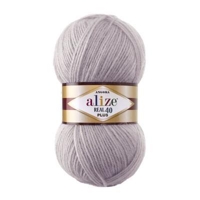 Alize Angora Real 40 plus 365 лиловый