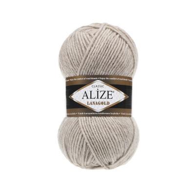 Alize Lanagold 152 беж меланж
