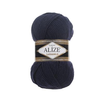 Alize Lanagold 58 темно-синий