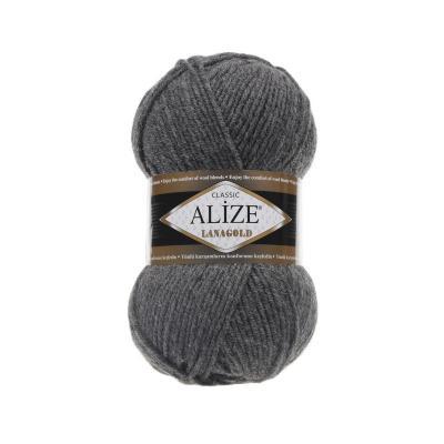Alize Lanagold 182 средне-серый меланж