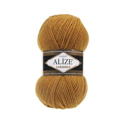 Alize Lanagold 645 горчичный