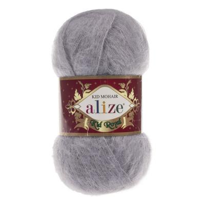 Alize Mohair Kid Royal 50 52 серый
