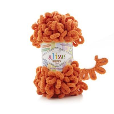 Alize Puffy 06 оранжевый